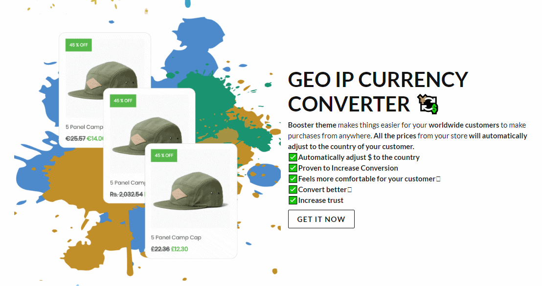 shopify booster currency converter